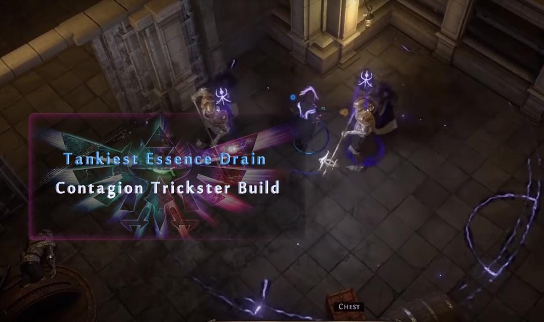Path Of Exile Ultimatum Build Guide: Tankiest Essence Drain Contagion Trickster Build