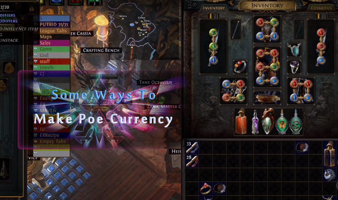 Some Ways To Make Poe Currency